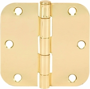 Polished Brass Door Hinges