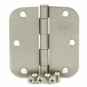 Satin Nickel Door Hinges