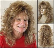 80's Hair Band Glam Synthetic Rocker Wig