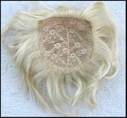 Synthetic Top Piece pale blonde 613