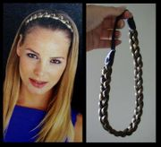 Braided Synthetic Head Band - Clearance sale