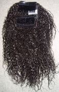 Crimpy Curly Comb Hairpiece