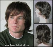 Shaggy Synthetic Mans Wig - SALE - one left