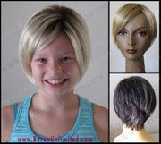 Jasmie Synthetic Child's Wig