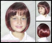 Jessica Child's  Synthetic Wig