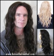 Yan Synthetic Man's Lace Front Wig