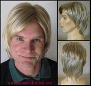 Laine Man's Synthetic Wig