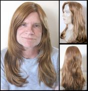 Sylvester Long Synthetic Man's Wig