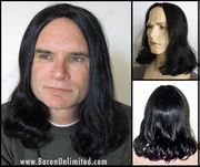 Lyle Synthetic Man's Long Wig