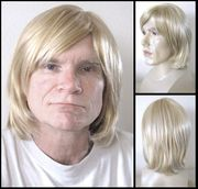 Gerry Synthetic full mono-top man's wig