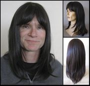 Ned <br> Human Hair Synthetic BLEND