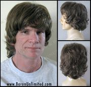 Piper Man's Synthetic Wig - SALE