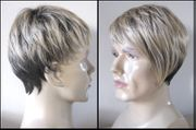 Blonde brown Synthetic Man's Wig