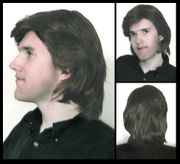 Saxton Synthetic Man's Wig