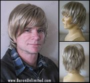 Svann Synthetic Man's Hand tied Wig