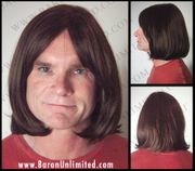 Topaz Synthetic Man's Wig