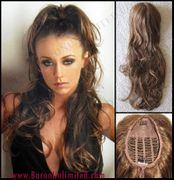 Tousled Synthetic Fall Bun Cover - SALE