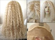 Lace Front Human Hair Twisted Sister Wig