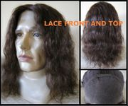 Slove Human Hair Lace Front and Top SOLD