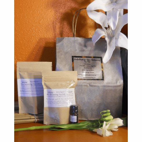 HerbalNature™ Skin Balancing Tea Kit w/Essential Oil
