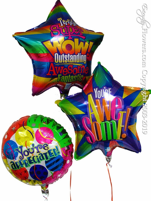 Appreciation Balloons