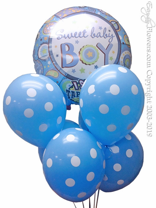 Baby Boy Singing Balloons