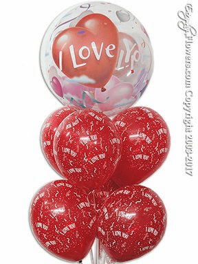 CBB115 I Love You Bubble Balloons