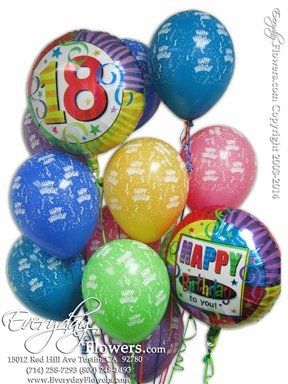 CBB132 18th Birthday Balloons
