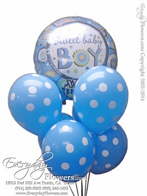 CBB151 Baby Boy Singing Balloons