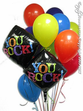 CBB191 You Rock Balloons