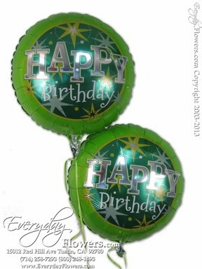 CBB262 Green Birthday Foil Balloons