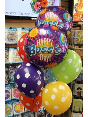 Happy Boss's Day Balloons