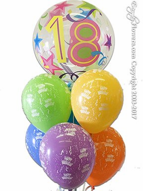 CBB299 18 Balloon Bouquet