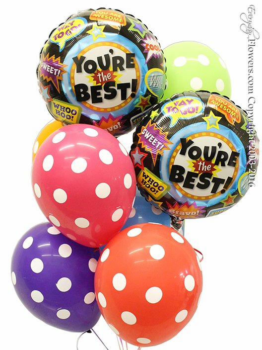 You're The Best Balloons