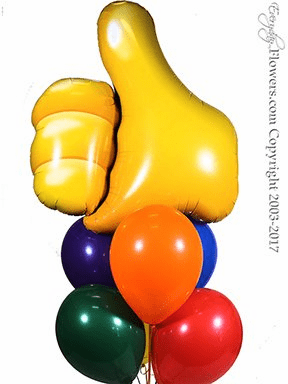 CBB322 Thumbs Up Balloons