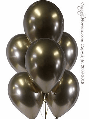 CBB327 Chrome Gold Balloons