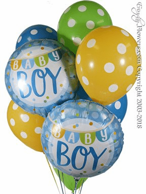 balloons for new baby baby boy balloons baby girl balloons