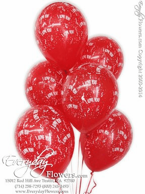 CBB84 I Love You Balloons