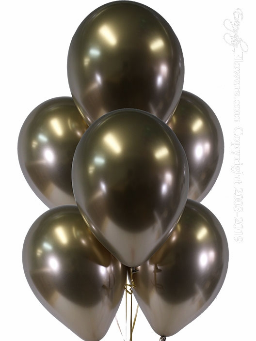 Chrome Gold Balloons