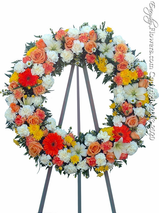 "Compassion Wreath <p style=""color:red;"">Please Contact Us For Availability</p>"
