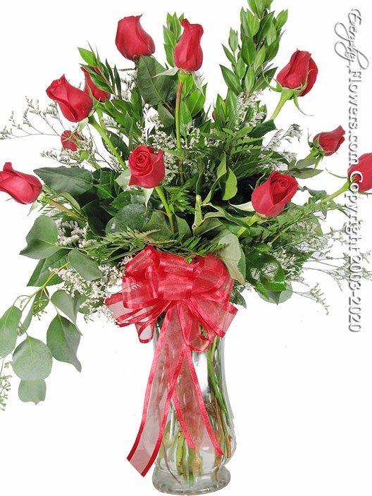 "Dozen Red Roses<p style=""color:red;"">Not Available For Valentines Week</p>"