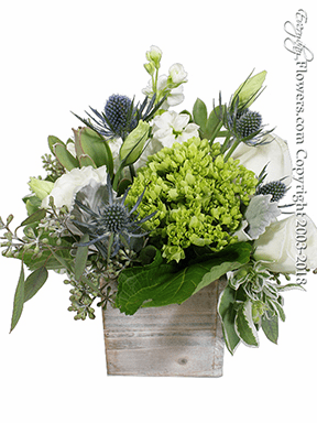 Thistle And Hydrangea Box