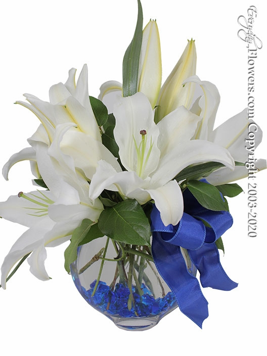 Fragrant White Lilies