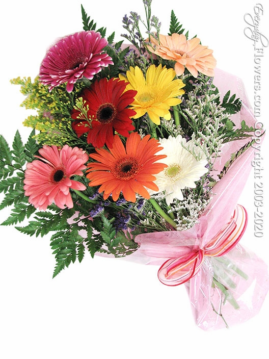 "Gerbera Daisies Bouquet <p style=""color:red;"">Sold Out</p>"