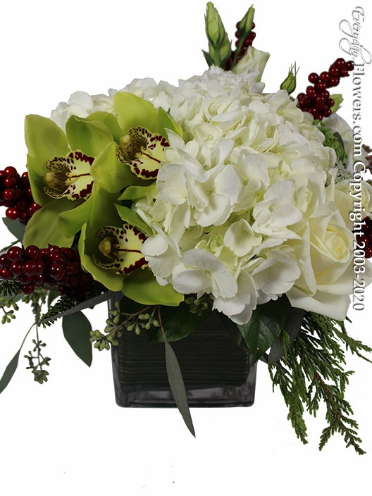 """Holiday Winter Flowers<p style=""""color:red;"""">Sold Out</p>"""