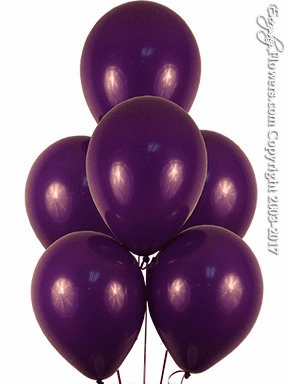 Purple Violet Balloons