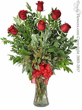 The Red Rose Bouquet Featuring Long Stem Red Roses