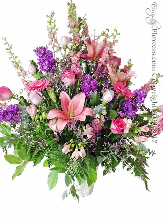 Pink And Purple Tribute