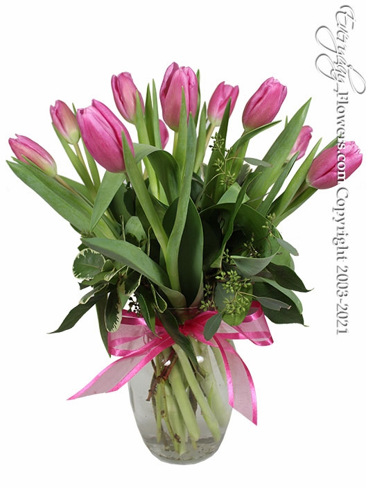"Spring Tulips<p style=""color:red;"">On Sale</p>"
