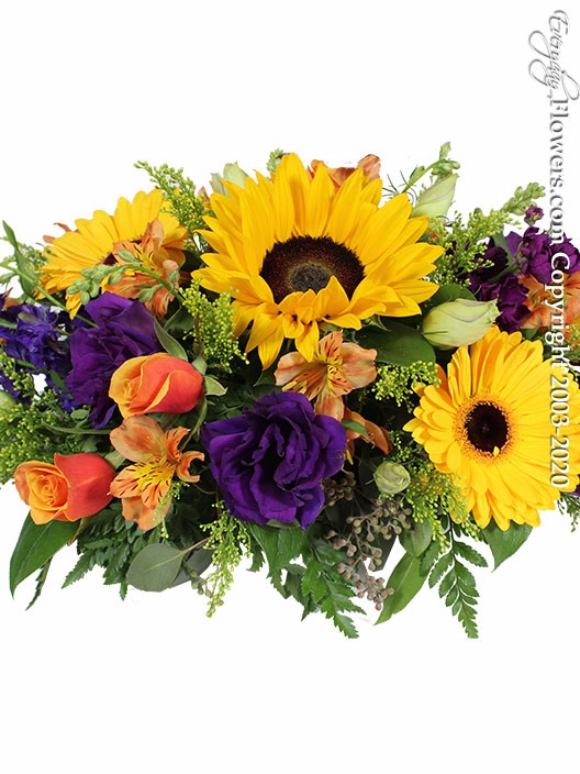 "Thankful Centerpiece<p style=""color:red;"">Enhance Your Arrangement By Choosing Larger Sizes</p>"